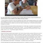 Article du 25.08.2014 Une rentrée anticipée et intensive